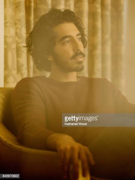 Actor Dev Patel is photographed for New York Times on November 5 2016 in Los Angeles California