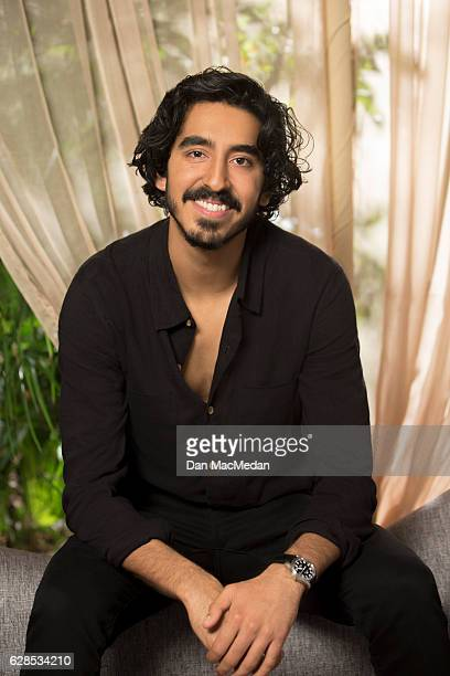 Actor Dev Patel is photographed for USA Today on November 12 2016 in Los Angeles California