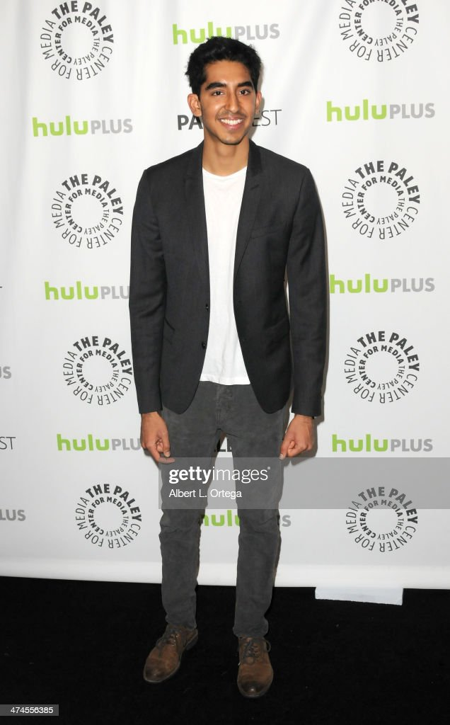 Actor <a gi-track='captionPersonalityLinkClicked' href=/galleries/search?phrase=Dev+Patel&family=editorial&specificpeople=5123545 ng-click='$event.stopPropagation()'>Dev Patel</a> participates in The Paley Center For Media's PaleyFest 2013 Honoring 'The Newsroom' held at The Saban Theater on March 3, 2013 in Beverly Hills, California.