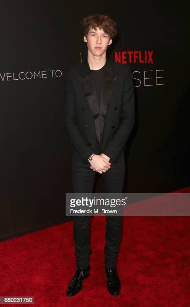 Actor Devin Druid arrives at the Netflix FYSee Kick Off Event at Netflix FYSee Space on May 7 2017 in Beverly Hills California