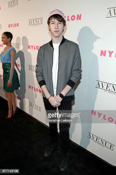 Actor Devin Druid at the NYLON Young Hollywood Party at AVENUE Los Angeles on May 2 2017 in Los Angeles California