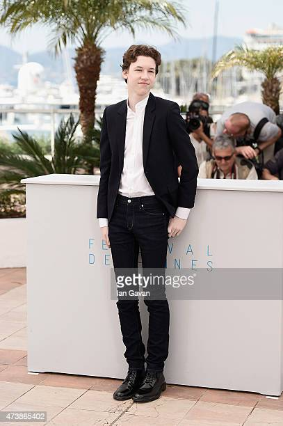 Actor Devin Druid attends the 'Louder Than Bombs' Photocall during the 68th annual Cannes Film Festival on May 18 2015 in Cannes France