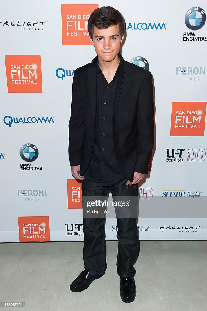 Actor Devon Bagby arrives at San Diego Film Festival's tribute to honor Judd Apatow at Museum of Contemporary Art on October 3, 2013 in La Jolla, California.