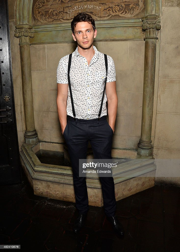 Actor Devon Graye arrives at the Water's End Productions and Gran Via Productions Film 'Last Weekend' cast dinner at Chateau Marmont on July 19, 2014 in Los Angeles, California.