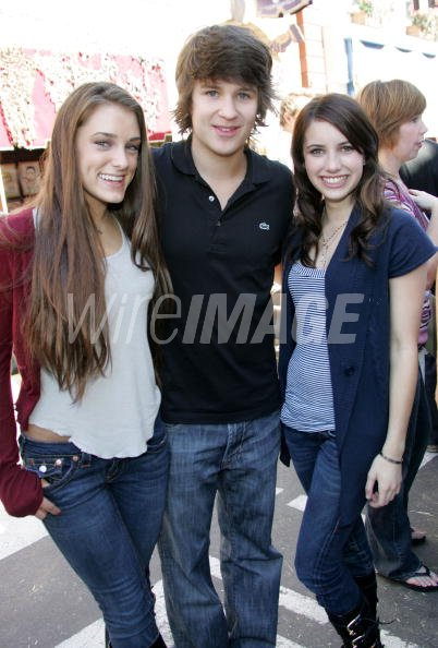 Actor Devon Werkheiser And Actress Emma Roberts Inside The 2007 Power Wireimage Sverige 88826947