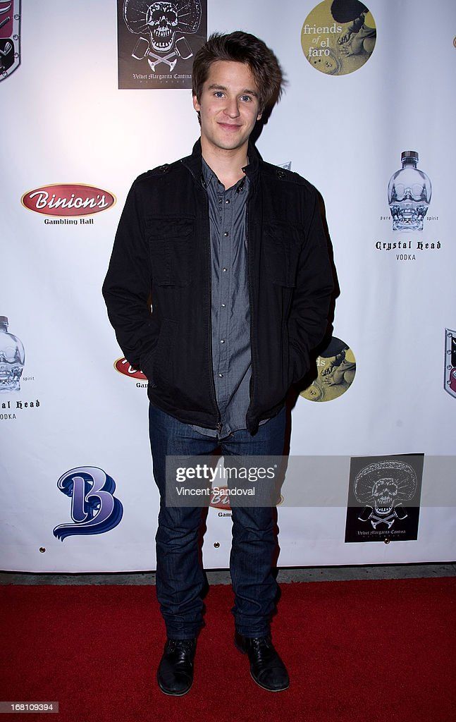 Actor Devon Werkheiser attends the 10th annual anniversary and Cinco De Mayo benefit with annual Charity Celebrity Poker Tournament at Velvet Margarita on May 4, 2013 in Hollywood, California.