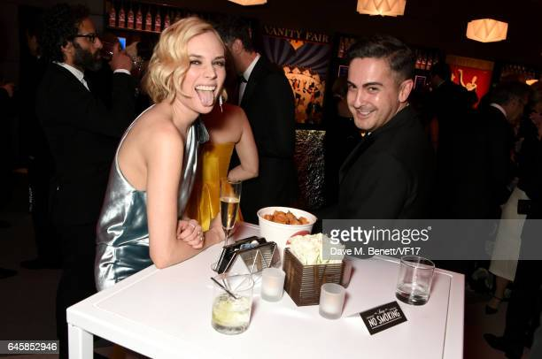 Actor Diane Kruger attends the 2017 Vanity Fair Oscar Party hosted by Graydon Carter at Wallis Annenberg Center for the Performing Arts on February...