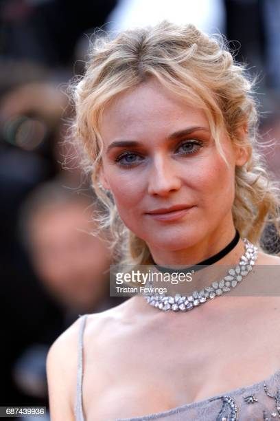 Actor Diane Kruger attends the 70th Anniversary of the 70th annual Cannes Film Festival at Palais des Festivals on May 23 2017 in Cannes France