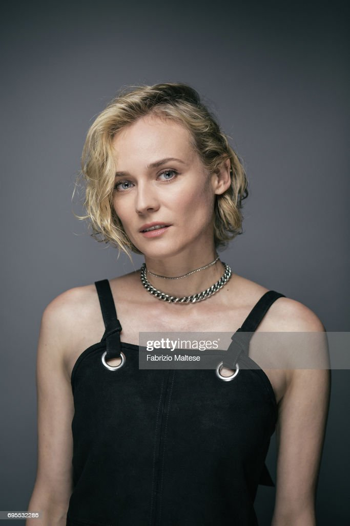 Actor Diane Kruger is photographed for the Hollywood Reporter on May 25, 2017 in Cannes, France.