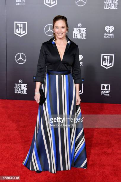 Actor Diane Lane attends the premiere of Warner Bros Pictures' 'Justice League' at Dolby Theatre on November 13 2017 in Hollywood California