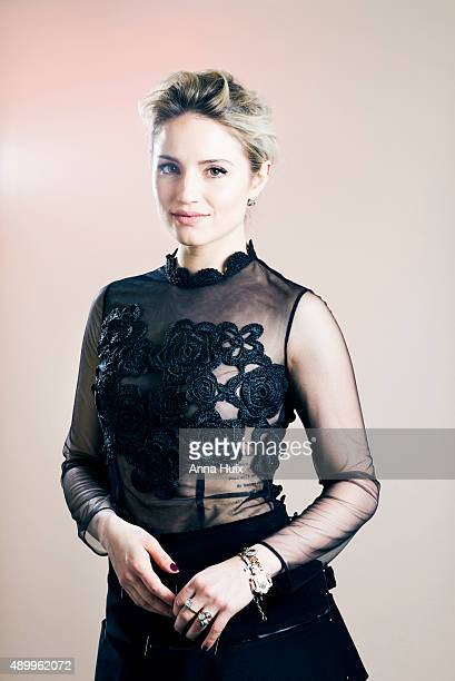 Actor Dianna Agron is photographed for the Telegraph on May 10 2015 in London England