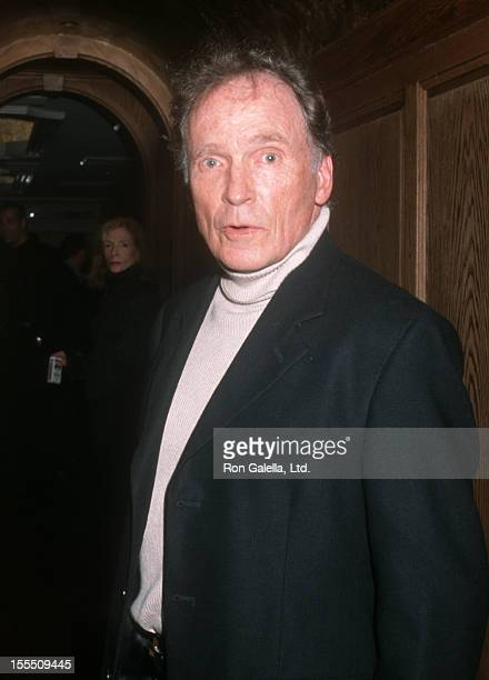 Actor Dick Cavett attends the birthday party for Richard Belzer on September 23 2000 at the Landmark Club in New York City