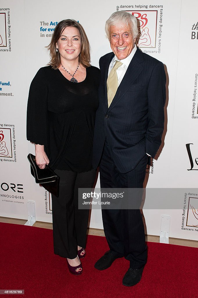 Actor Dick Van Dyke (R) and Arlene Silver arrives at the Professional Dancers Society's 27th Annual Gypsy Award Luncheon hosted at The Beverly Hilton Hotel on March 30, 2014 in Beverly Hills, California.