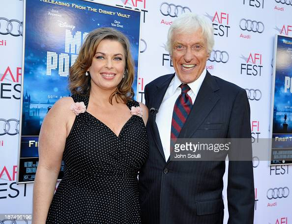 Actor Dick Van Dyke and Arlene Silver attend Mary Poppins 50th Anniversary Commemoration Screening at AFI Fest at TCL Chinese Theatre on November 9...