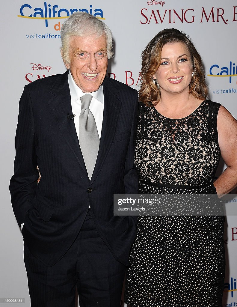 Actor <a gi-track='captionPersonalityLinkClicked' href=/galleries/search?phrase=Dick+Van+Dyke&family=editorial&specificpeople=123836 ng-click='$event.stopPropagation()'>Dick Van Dyke</a> and wife Arlene Silver attend the premiere of 'Saving Mr. Banks' at Walt Disney Studios on December 9, 2013 in Burbank, California.