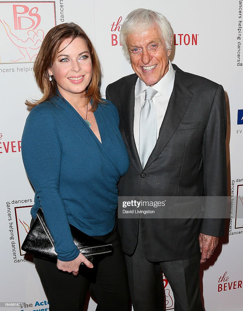 Actor <a gi-track='captionPersonalityLinkClicked' href=/galleries/search?phrase=Dick+Van+Dyke&family=editorial&specificpeople=123836 ng-click='$event.stopPropagation()'>Dick Van Dyke</a> (R) and wife Arlene Silver attend the Professional Dancers Society's Gypsy Awards Luncheon at The Beverly Hilton Hotel on March 24, 2013 in Beverly Hills, California.