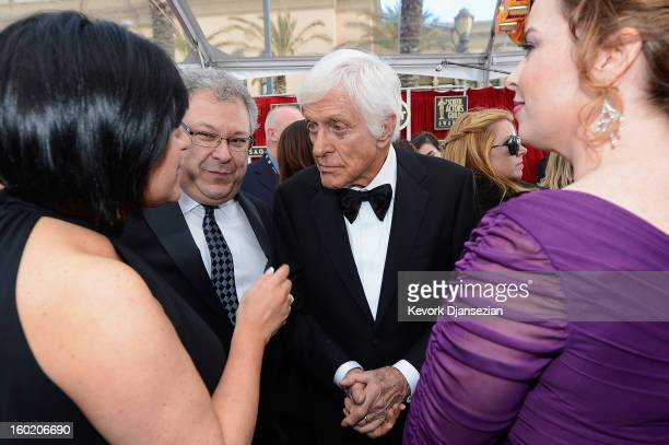 Actor Dick Van Dyke arrives at the 19th Annual Screen Actors Guild Awards held at The Shrine Auditorium on January 27 2013 in Los Angeles California