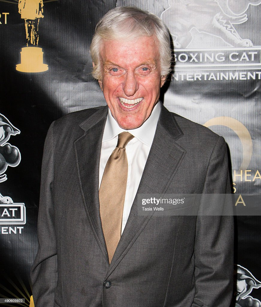 Actor Dick Van Dyke arrives at The Midnight Mission's Golden Heart Awards Gala at the Beverly Wilshire Four Seasons Hotel on October 1 2015 in...