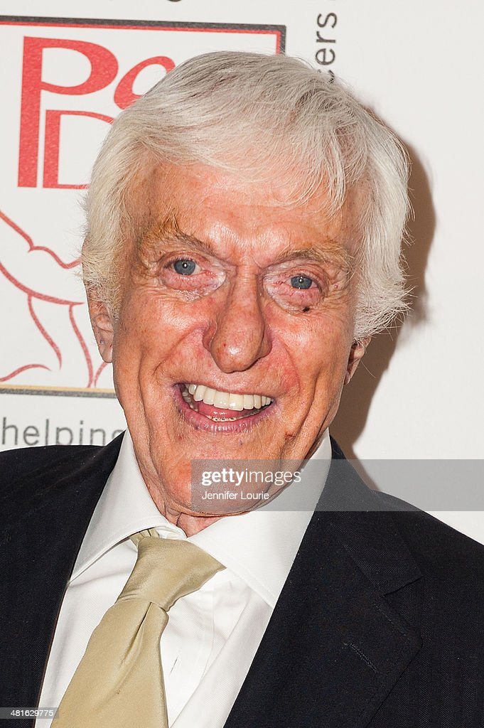 Actor Dick Van Dyke arrives at the Professional Dancers Society's 27th Annual Gypsy Award Luncheon hosted at The Beverly Hilton Hotel on March 30, 2014 in Beverly Hills, California.