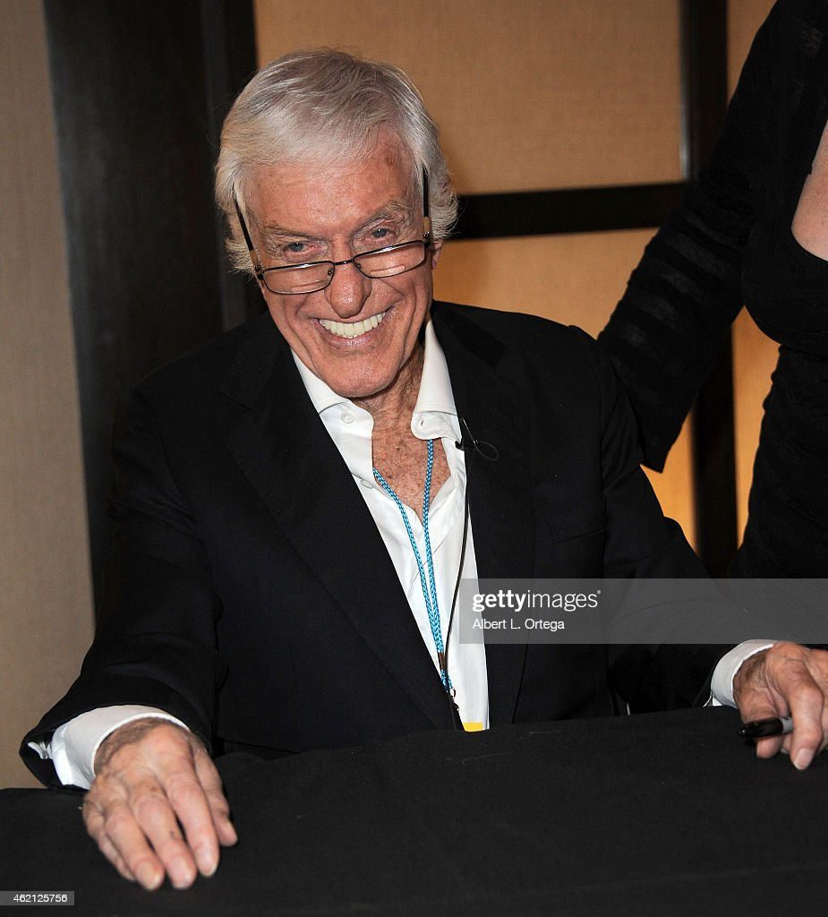 Actor Dick Van Dyke at The Hollywood Show held at The Westin Hotel LAX on January 24 2015 in Los Angeles California