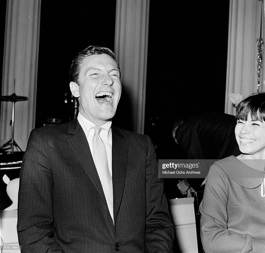 Actor Dick Van Dyke attends a party in Los AngelesCA