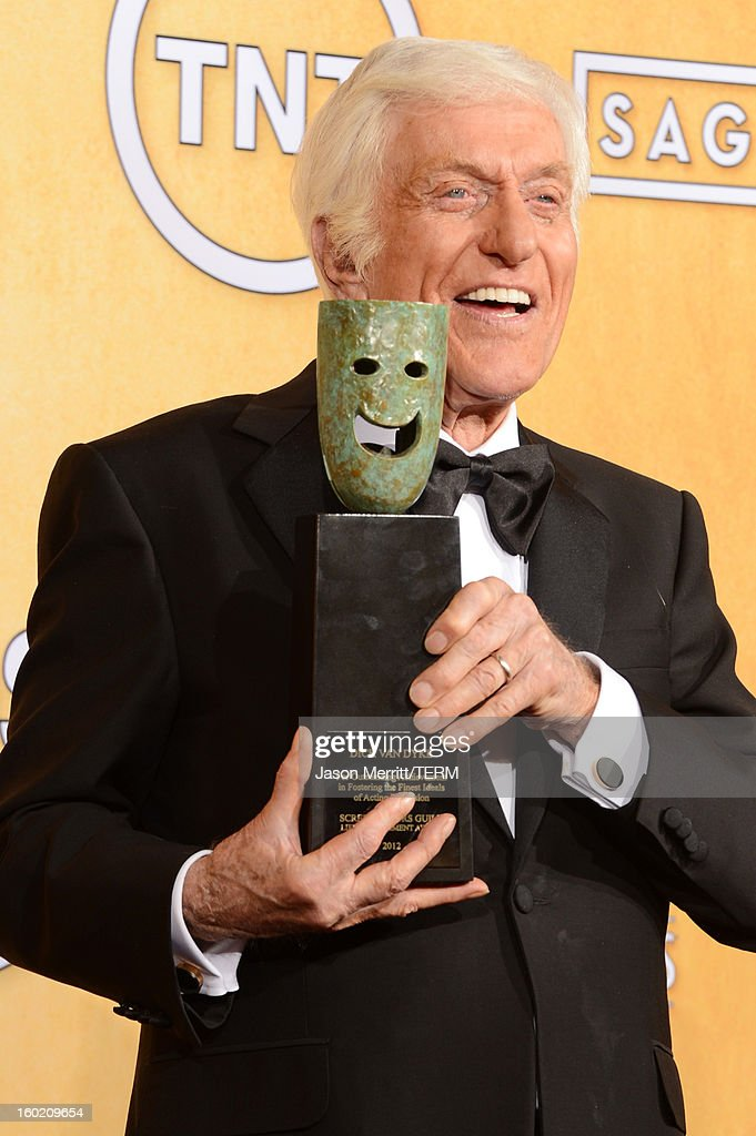 Actor <a gi-track='captionPersonalityLinkClicked' href=/galleries/search?phrase=Dick+Van+Dyke&family=editorial&specificpeople=123836 ng-click='$event.stopPropagation()'>Dick Van Dyke</a> attends the 19th Annual Screen Actors Guild Awards at The Shrine Auditorium on January 27, 2013 in Los Angeles, California. (Photo by Jason Merritt/WireImage) 23116_014_3186.jpg