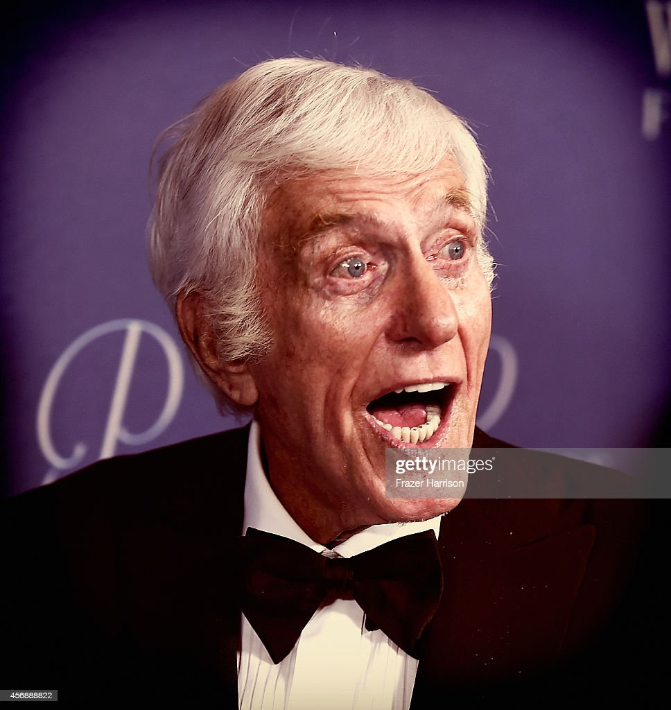 This image was processed using digital filters Actor Dick Van Dyke attends the 2014 Princess Grace Awards Gala at Regent Beverly Wilshire Hotel on...