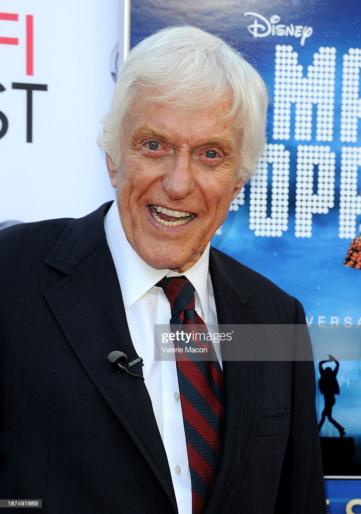 Actor <a gi-track='captionPersonalityLinkClicked' href=/galleries/search?phrase=Dick+Van+Dyke&family=editorial&specificpeople=123836 ng-click='$event.stopPropagation()'>Dick Van Dyke</a> attends the 50th anniversary commemoration screening of Disney's 'Mary Poppins' during AFI FEST 2013 presented by Audi at TCL Chinese Theatre on November 9, 2013 in Hollywood, California.