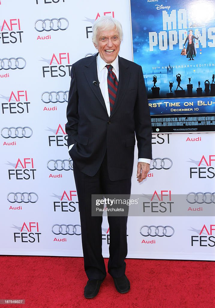 Actor <a gi-track='captionPersonalityLinkClicked' href=/galleries/search?phrase=Dick+Van+Dyke&family=editorial&specificpeople=123836 ng-click='$event.stopPropagation()'>Dick Van Dyke</a> attends the 50th Anniversary of 'Mary Poppins' at AFI FEST 2013 at the TCL Chinese Theatre on November 9, 2013 in Hollywood, California.