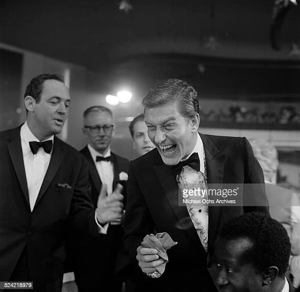 Actor Dick Van Dyke attends the Emmy Awards in Los AngelesCA