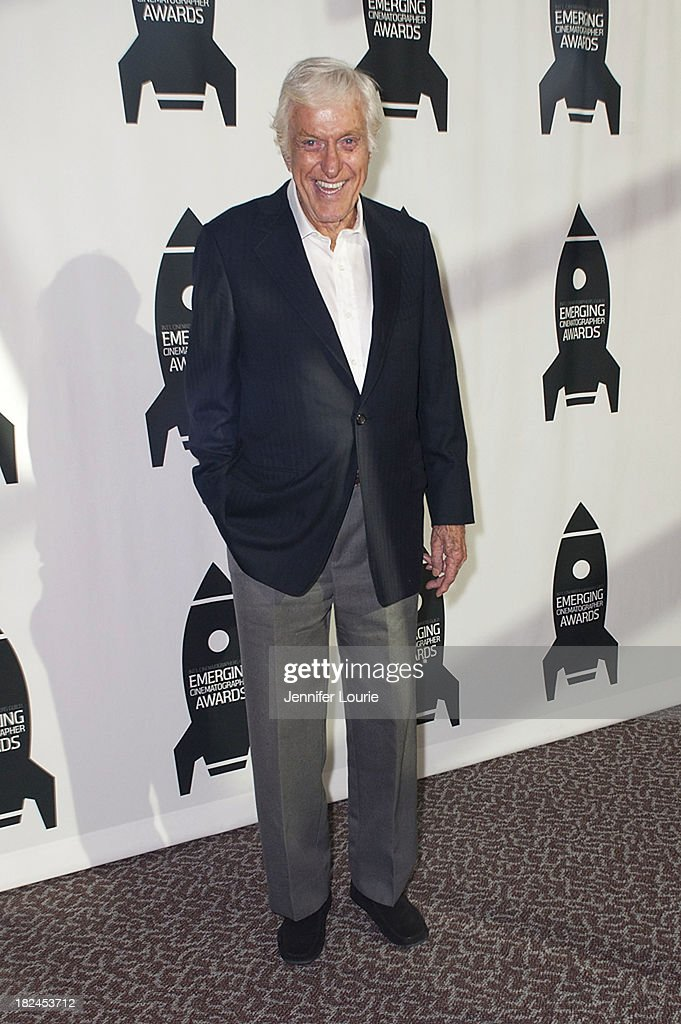 Actor <a gi-track='captionPersonalityLinkClicked' href=/galleries/search?phrase=Dick+Van+Dyke&family=editorial&specificpeople=123836 ng-click='$event.stopPropagation()'>Dick Van Dyke</a> attends The International Cinematographers Guild's 17th Annual Emerging Cinematographer Awards at Directors Guild Of America on September 29, 2013 in Los Angeles, California.