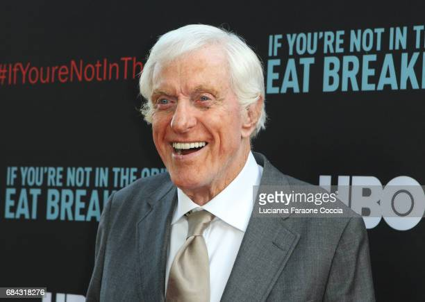 Actor Dick Van Dyke attends the premiere of HBO's 'If You're Not In The Obit Eat Breakfast' at Samuel Goldwyn Theater on May 17 2017 in Beverly Hills...