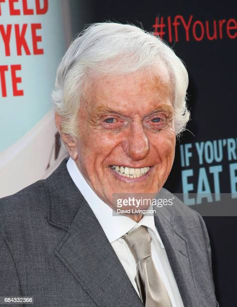 Actor Dick Van Dyke attends the premiere of HBO's 'If You're Not In The Obit Eat Breakfast' at the Samuel Goldwyn Theater on May 17 2017 in Beverly...
