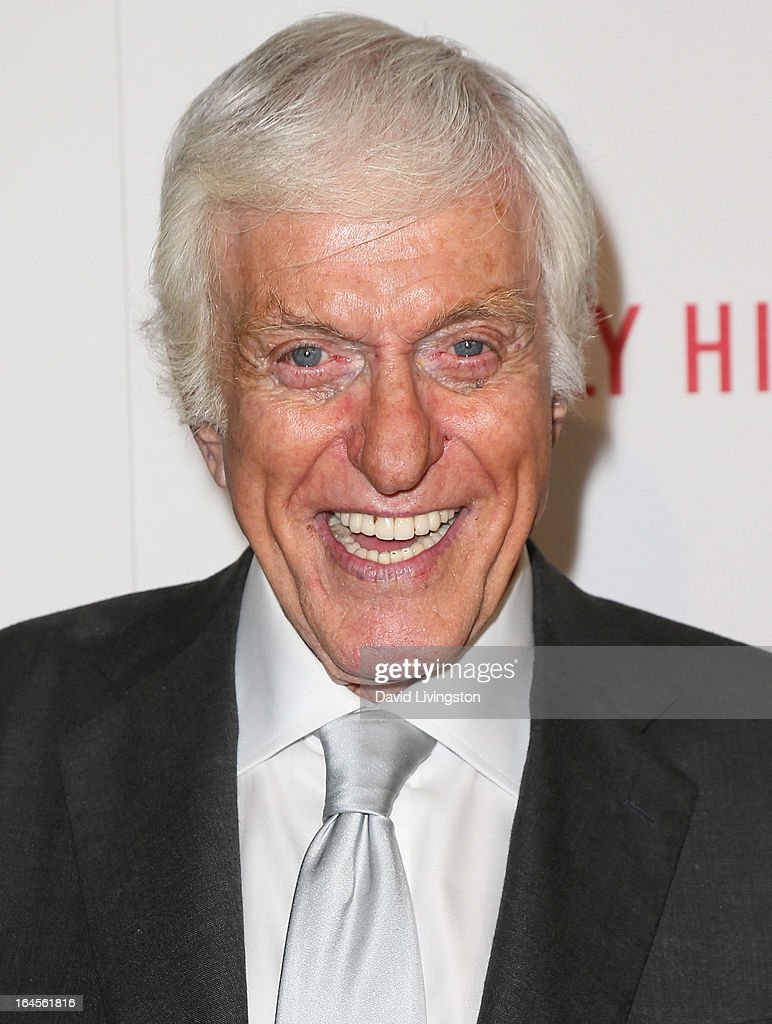Actor Dick Van Dyke attends the Professional Dancers Society's Gypsy Awards Luncheon at The Beverly Hilton Hotel on March 24, 2013 in Beverly Hills, California.