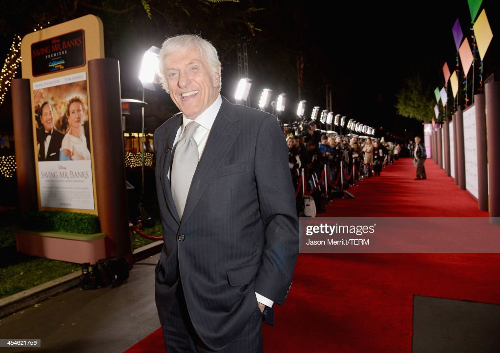 Actor <a gi-track='captionPersonalityLinkClicked' href=/galleries/search?phrase=Dick+Van+Dyke&family=editorial&specificpeople=123836 ng-click='$event.stopPropagation()'>Dick Van Dyke</a> attends the U.S. Premiere Of Disney's 'Saving Mr. Banks' at Walt Disney Studios on December 9, 2013 in Burbank, California.