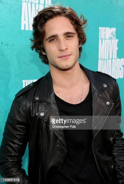 Actor Diego Boneta arrives at the 2012 MTV Movie Awards held at Gibson Amphitheatre on June 3 2012 in Universal City California