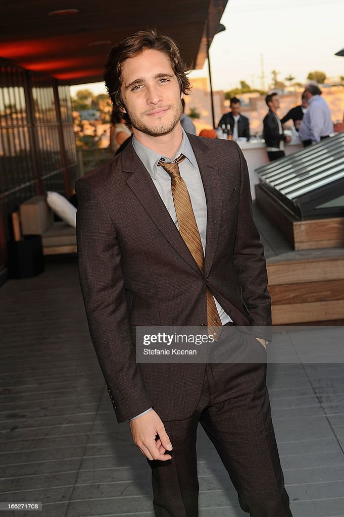 Actor <a gi-track='captionPersonalityLinkClicked' href=/galleries/search?phrase=Diego+Boneta&family=editorial&specificpeople=6787641 ng-click='$event.stopPropagation()'>Diego Boneta</a> attends Coach's 3rd Annual Evening of Cocktails and Shopping to Benefit the Children's Defense Fund hosted by Katie McGrath, J.J. Abrams and Bryan Burk at Bad Robot on April 10, 2013 in Santa Monica, California.