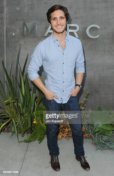 Actor Diego Boneta attends Marc By Marc Jacobs Fall/Winter 2014 Preview at Marc Jacobs on June 20 2014 in Los Angeles California