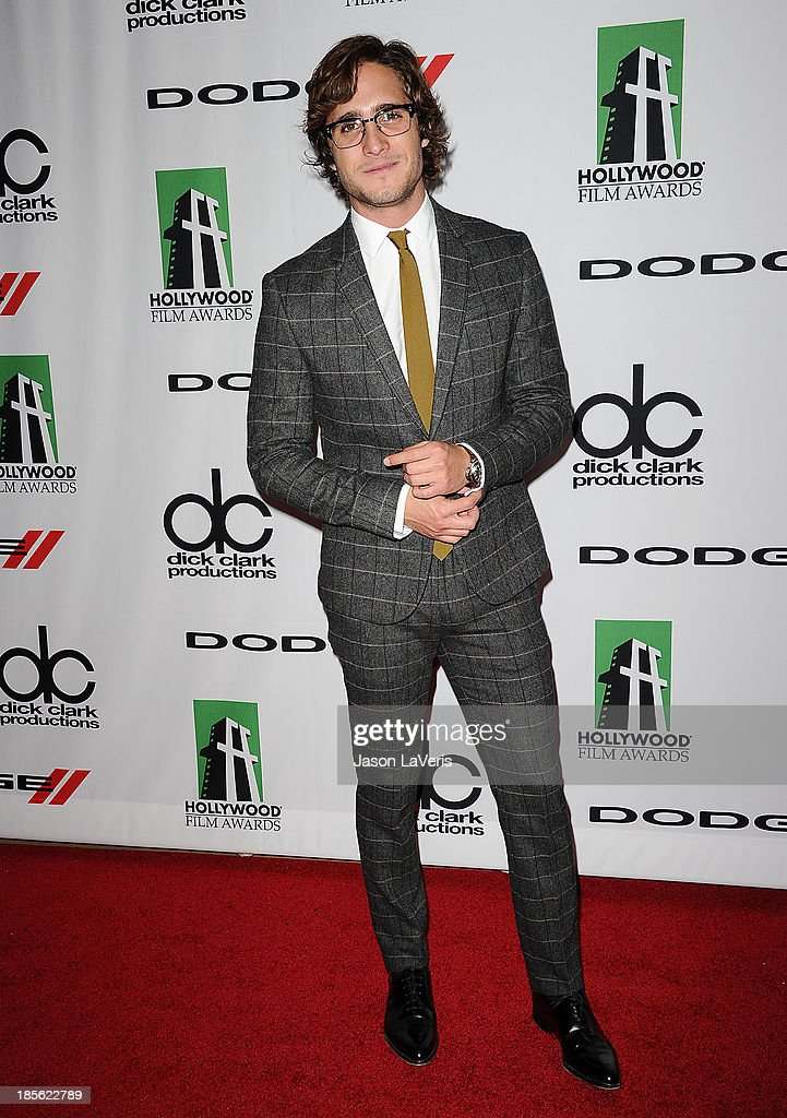 Actor Diego Boneta attends the 17th annual Hollywood Film Awards at The Beverly Hilton Hotel on October 21, 2013 in Beverly Hills, California.