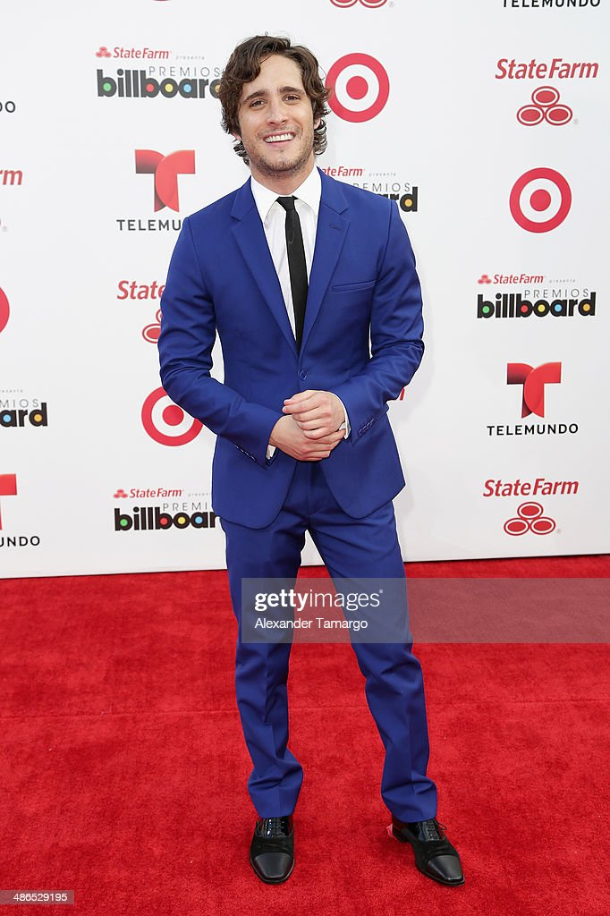 Actor <a gi-track='captionPersonalityLinkClicked' href=/galleries/search?phrase=Diego+Boneta&family=editorial&specificpeople=6787641 ng-click='$event.stopPropagation()'>Diego Boneta</a> attends the 2014 Billboard Latin Music Awards at Bank United Center on April 24, 2014 in Miami, Florida.