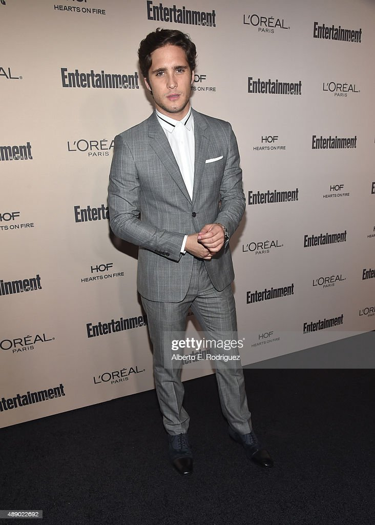 Actor Diego Boneta attends the 2015 Entertainment Weekly PreEmmy Party at Fig Olive Melrose Place on September 18 2015 in West Hollywood California