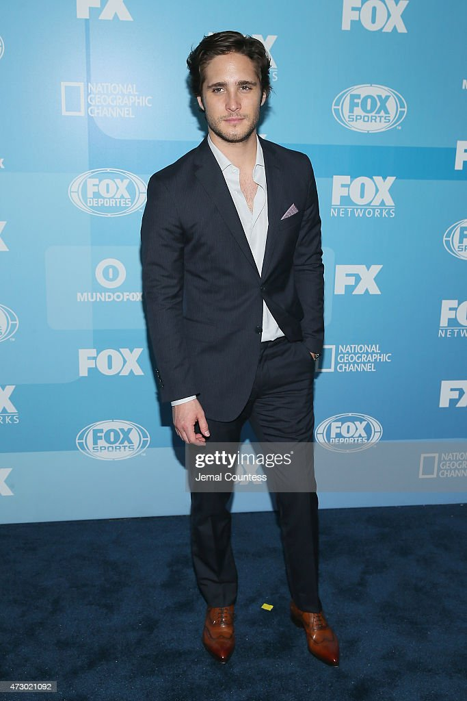 Actor Diego Boneta attends the 2015 FOX programming presentation at Wollman Rink in Central Park on May 11 2015 in New York City