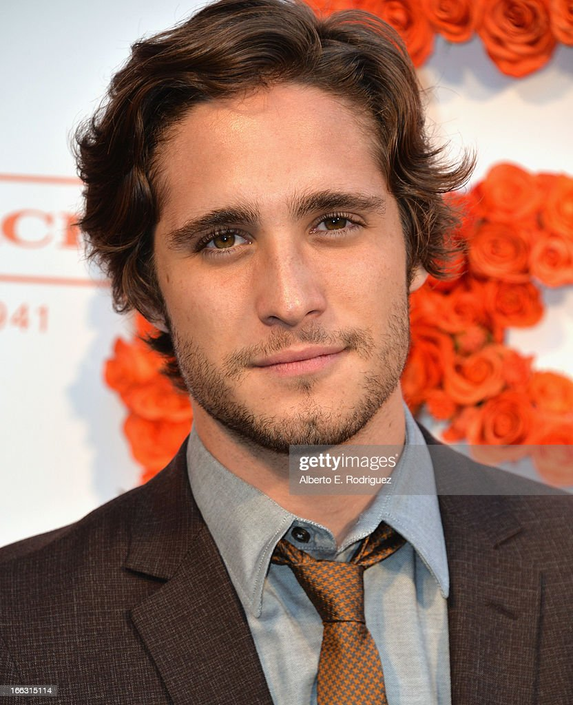 Actor Diego Boneta attends the 3rd Annual Coach Evening to benefit Children's Defense Fund at Bad Robot on April 10 2013 in Santa Monica California