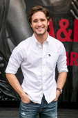 Actor Diego Boneta stops by the Abercrombie Fitch store at the Grove to kick off the launch of their The Making of a Star Spring 2014 Campaign at...