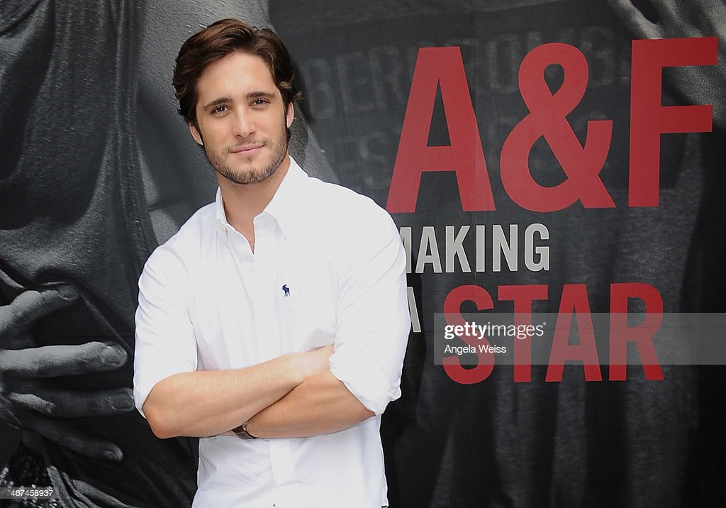 Actor Diego Boneta stops by the Abercrombie Fitch store at The Grove in Los Angeles to kick off the launch of their The Making of a Star spring...