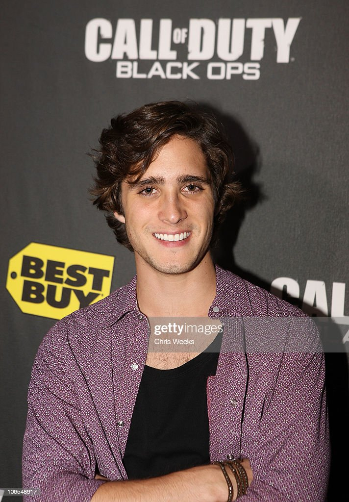 Actor Diego Gonzalez Boneta arrives at the Call Of Duty: Black Ops Launch Party held at Barker Hangar on November 4, 2010 in Santa Monica, California.