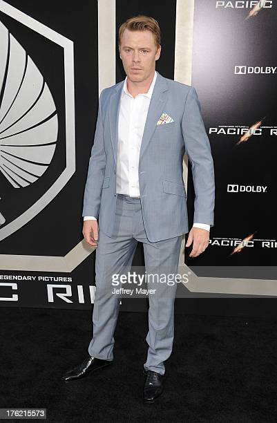 Actor Diego Klattenhoff arrives at the 'Pacific Rim' Los Angeles Premiere at Dolby Theatre on July 9 2013 in Hollywood California