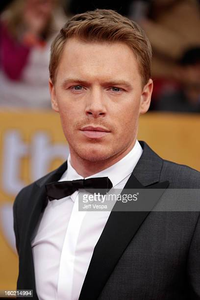 Actor Diego Klattenhoff arrives at the19th Annual Screen Actors Guild Awards held at The Shrine Auditorium on January 27 2013 in Los Angeles...
