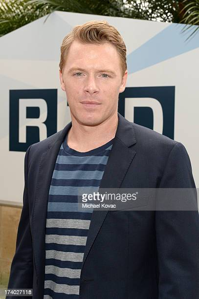 Actor Diego Klattenhoff attends day 2 of the WIRED Cafe at ComicCon on July 19 2013 in San Diego California