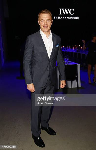 Actor Diego Klattenhoff attends the IWC Schaffhausen Third Annual 'For the Love of Cinema' Gala during the Tribeca Film Festival on April 16 2015 in...